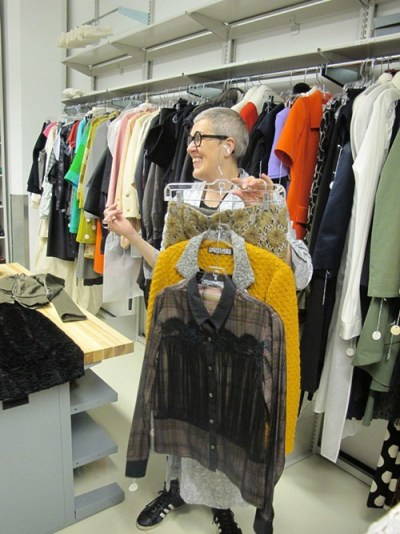 Garments by Creatures of the Wind, a successful label run by two SAIC alumni
