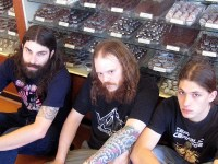 Gigan, in whats almost certainly the least metal promo photo of 2011