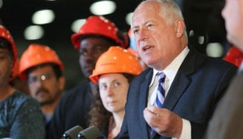 Governor Pat Quinn is happy to report that the Illinois economy isnt quite as lousy as before.