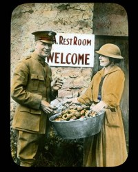 How doughnuts reached the front during World War I