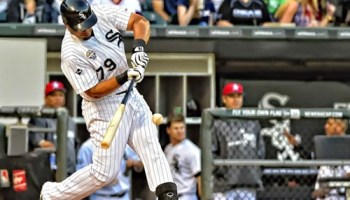 Jose Abreu slams his 27th homer on July 4 at U.S. Cellular Field against the Mariners. He now has 29.
