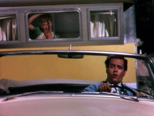 Lucille Ball and Desi Arnaz in The Long, Long Trailer