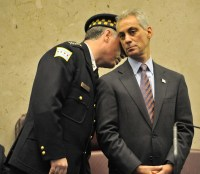 Mayor Rahm Emanuel and police Superintendent Garry McCarthy say Chicago doesnt need more police officers