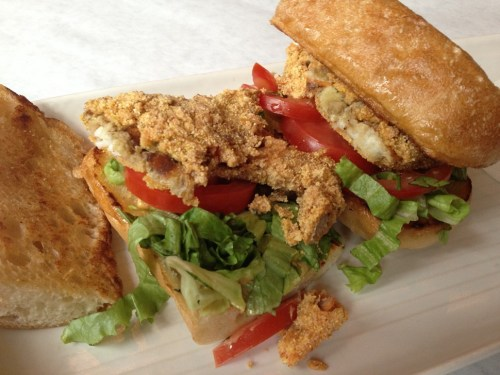 Not a poboy, Pearl Tavern