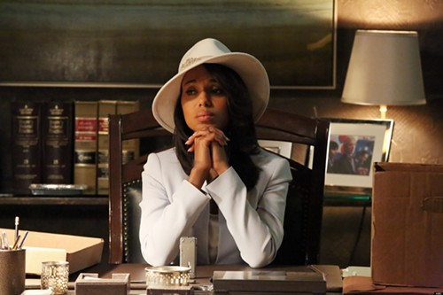 Olivia Pope is most forlorn when theres no red wine in sight.