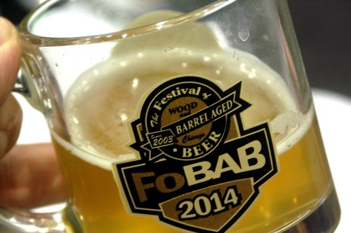 One of many beers I barely remember trying at this years FOBAB