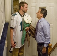 Ortiz (right) with Bradley Cooper in Silver Linings Playbook