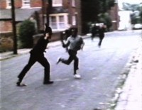 Race riot footage becomes a sad refrain in these Songs.