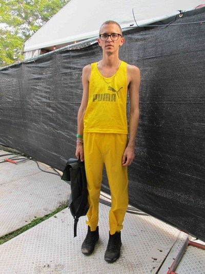 Ratko. Came to see: Grimes. Why this outfit? I always try to find something thats light enough and allows me to move, but that looks good.