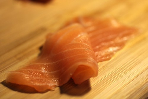 Smoked salmon from H. Forman & Son