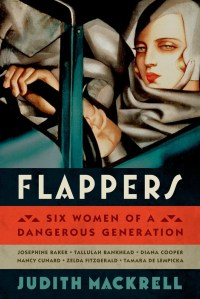 The cover of Flappers is also a self-portrait of Tamara de Lempicka driving a Bugati.