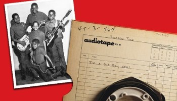 The Jackson Five; the Big Boy reel from One-derful Records