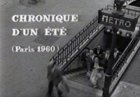The title screen of Jean Rouchs verite masterpiece