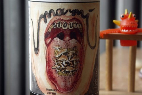 This is allegedly the last bottle of Umami Stout in Illinois. But Marias still has six kegs of it.