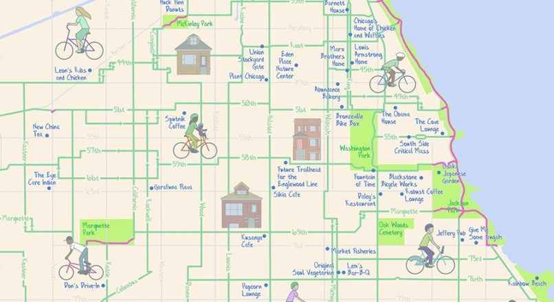 The Mellow Chicago Bike Map Our Guide