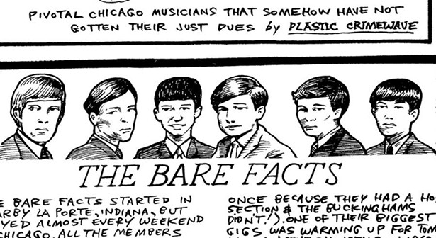 La Porte garage band the Bare Facts rode the wave of late