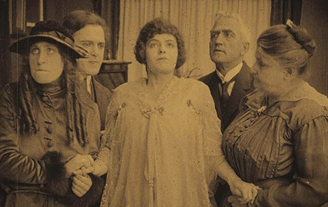 In Mothers of Men, Dorothy Davenport (middle) stars as the first female governor of an unnamed state.