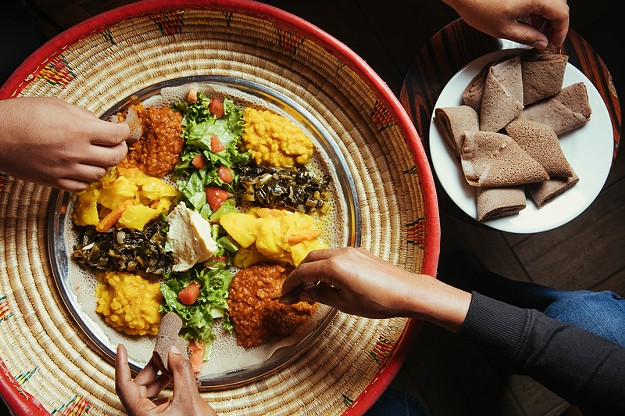 The Curious History of the Eritrean and Ethiopian Veggie