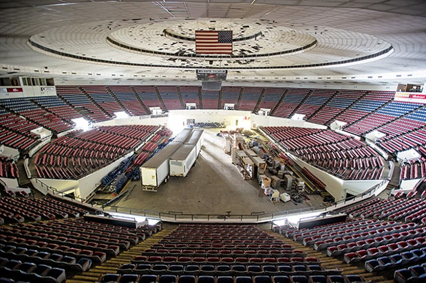 City Opens Up MidSouth Coliseum for Review  The FlyBy  Memphis News and Events  Memphis Flyer