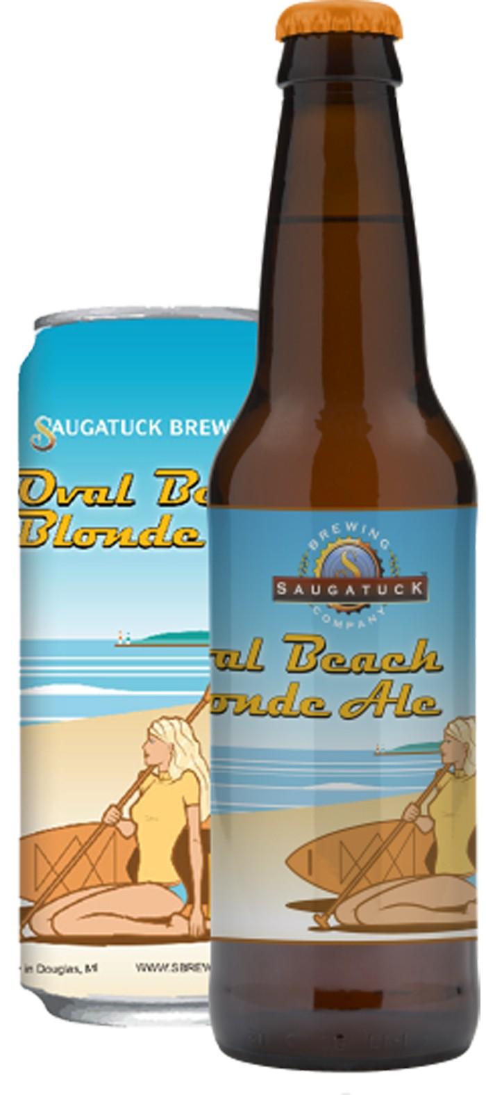 Saugatuck Oval Beach Blonde Ale  Food  Drink  Detroit