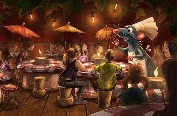 Disneyland Paris opening Ratatouille land in July  Blogs