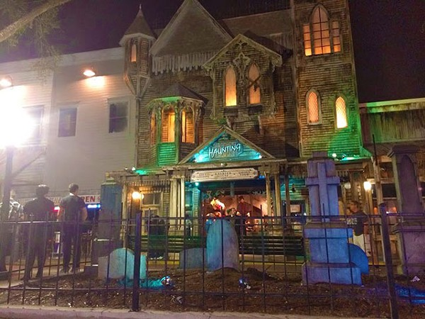 Old Town Haunted History Walking Tour Arts Stories