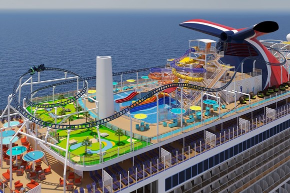 carnival s newest cruise