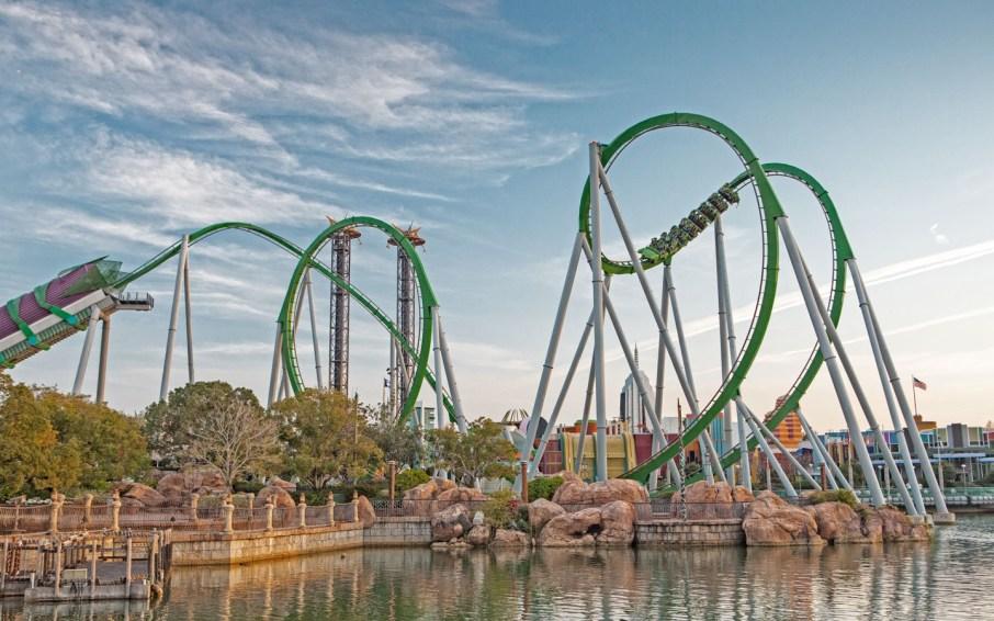 Image result for incredible hulk ride