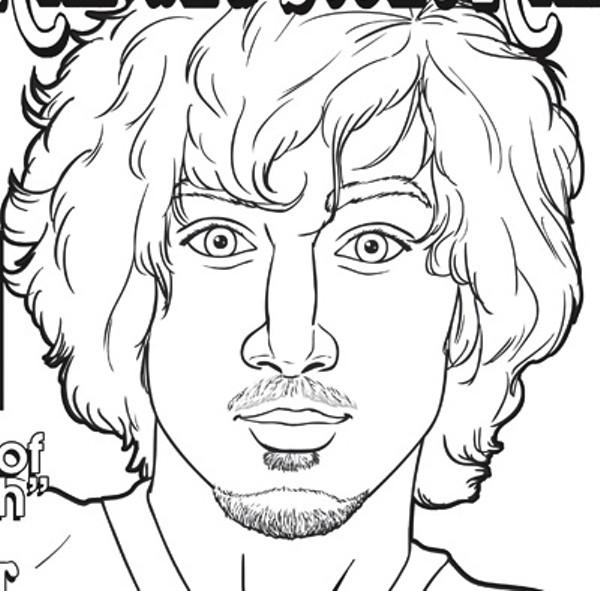 Dzhokhar Tsarnaev The Terrorist Coloring Book on Sale in