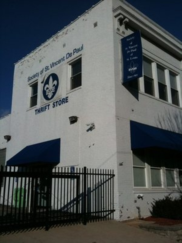 Society Of St Vincent De Paul Thrift Store Kingshighway