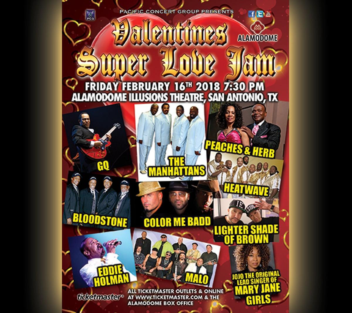 Valentines Super Love Jam Alamodome Live Music