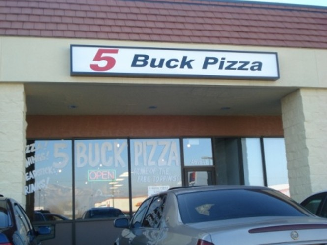 five buck pizza slc