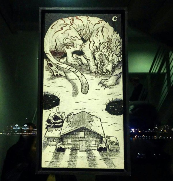 Vermont Artists Hang Guerrilla Show Whitney Live