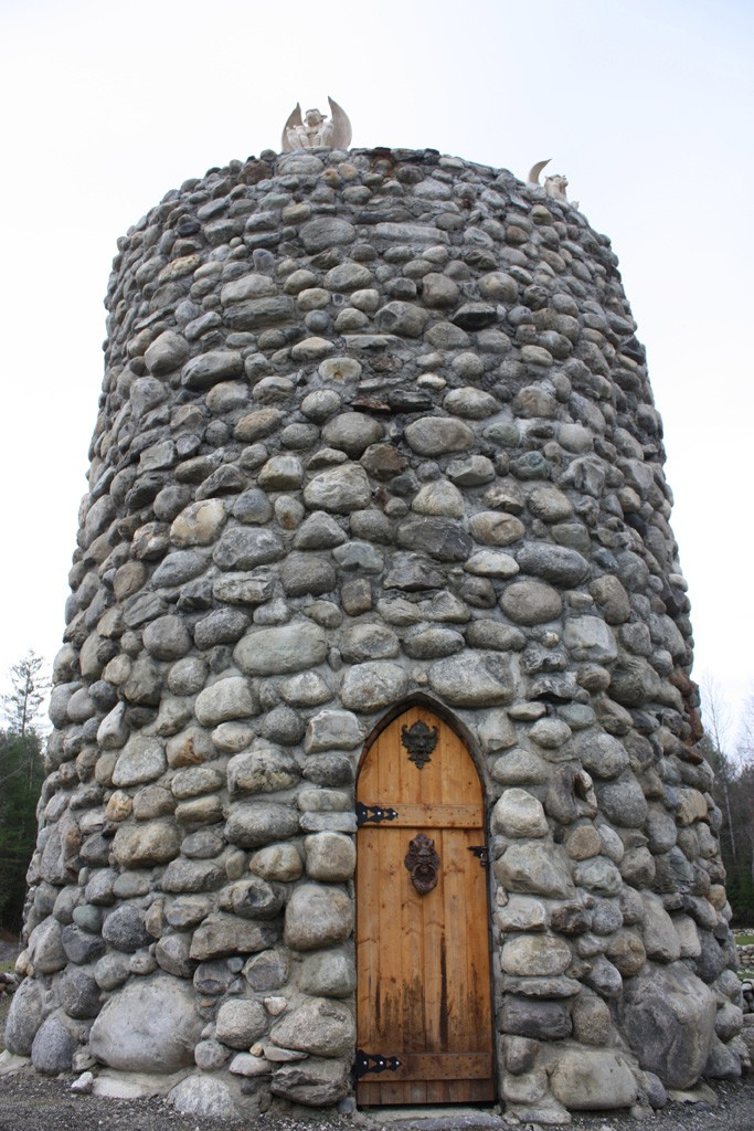 Whats The Story Behind Woodburys Medieval Stone Tower