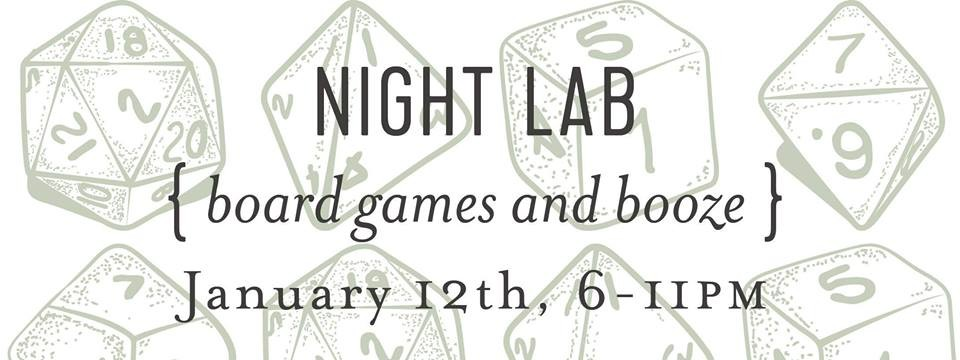 Night Lab: Board Games and Booze at Ada's Technical Books