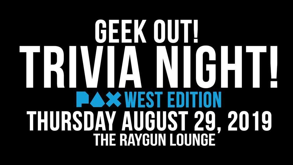 geek out trivia night