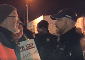 Police continue arresting labour activists