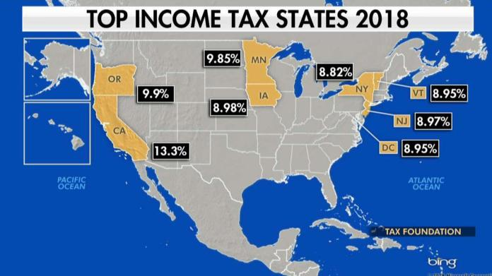 Why residents are fleeing high-tax states