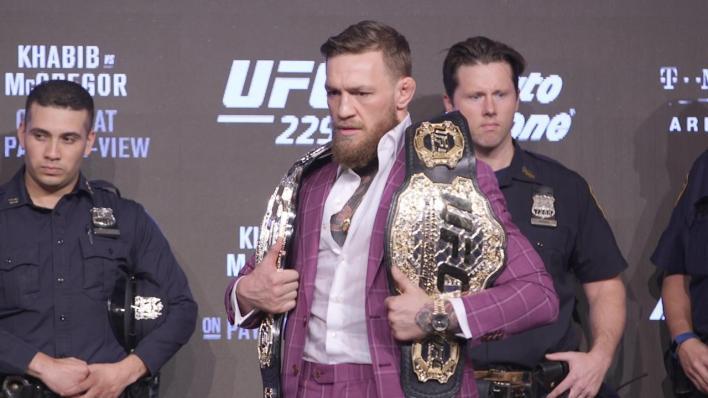Conor McGregor unloads vulgar tirade during UFC press event