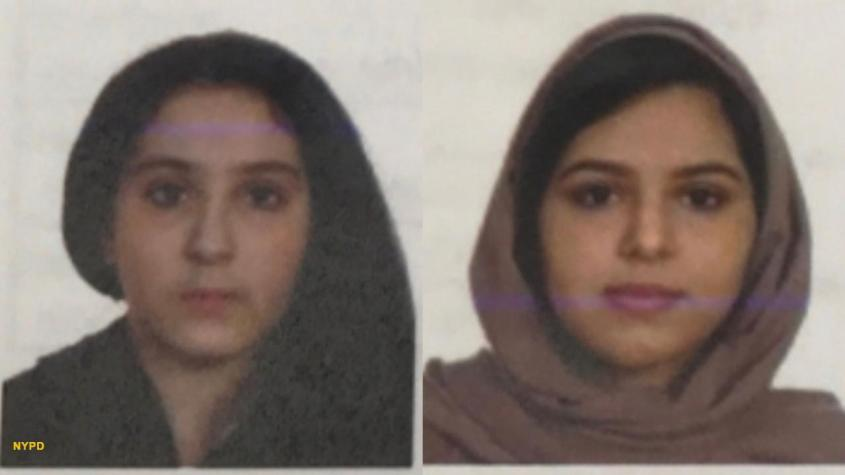 First photos of Saudi sisters found duct-taped together released