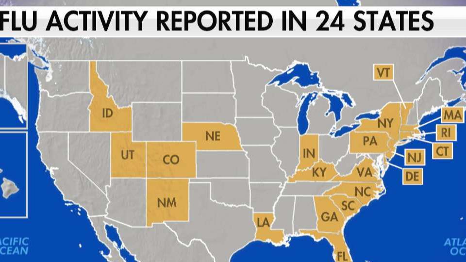 Flu taking toll in California, other states, but having milder ...