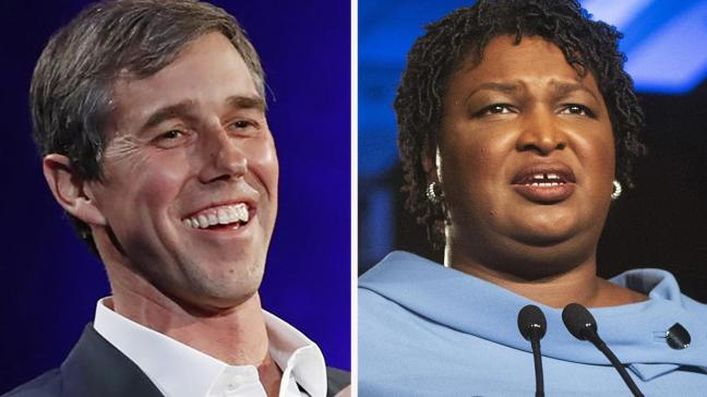 Stacey Abrams says 2020 is 'on the table' and Beto O'Rourke prepares to visit Iowa