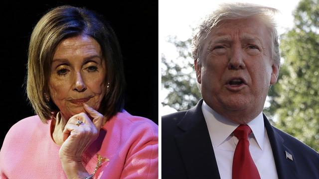 Speaker Nancy Pelosi says President Trump 'wants to be impeached'
