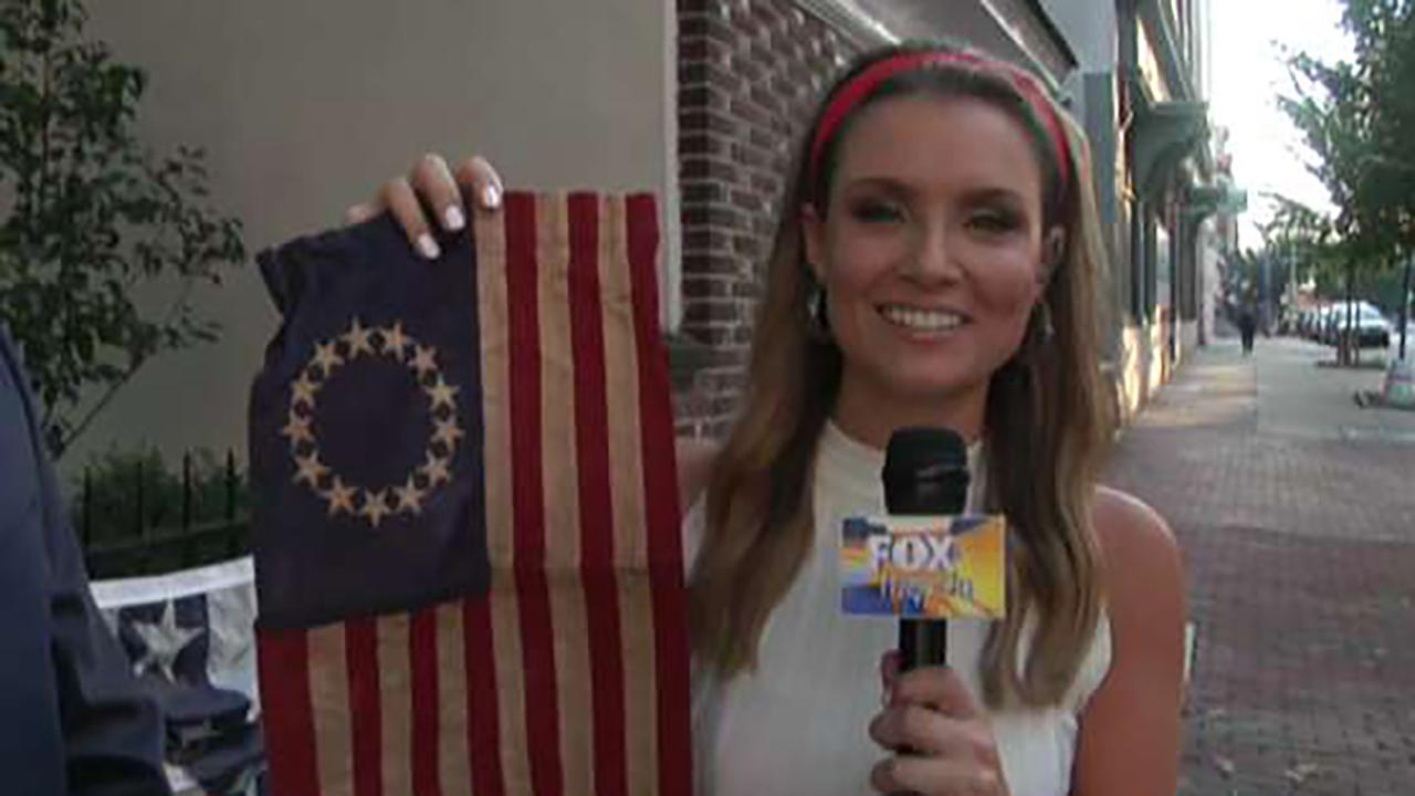 Anti Defamation League Weighs In On Betsy Ross Flag Debate After Nike Pulls Shoe Fox News