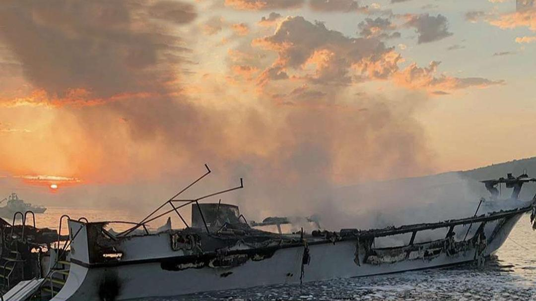 Dozens missing, feared dead after dive boat catches fire off California coast