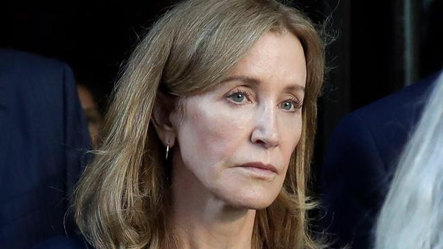 With Felicity Huffman sentenced to 14 days, will the judge make an example of Lori Loughlin?
