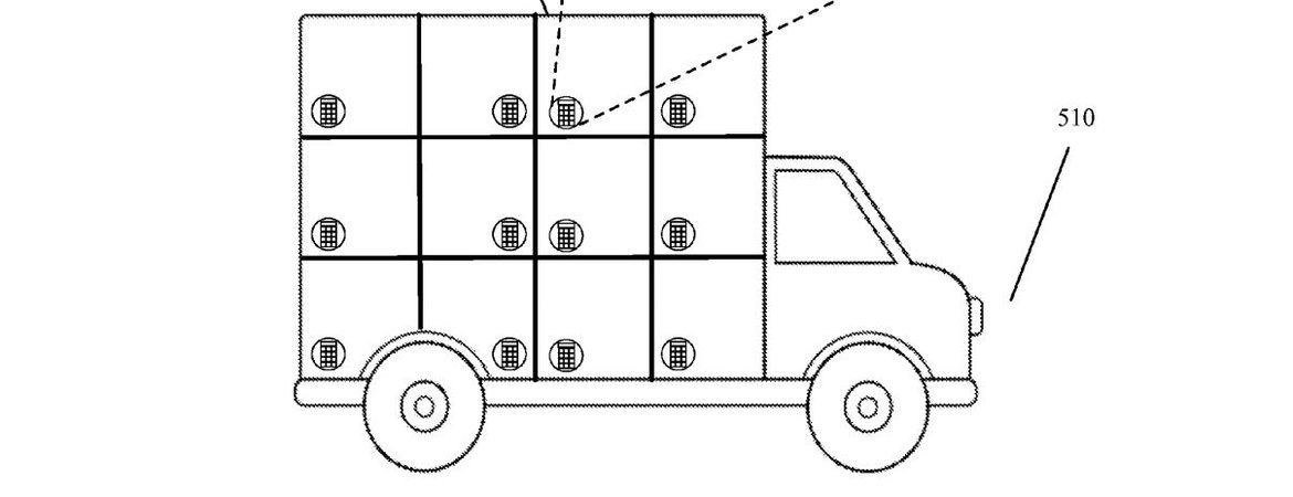 Google Patents Self-Driving Delivery Truck Idea
