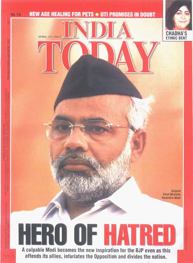 Throwback Narendra Modi on India Today covers   Photo12