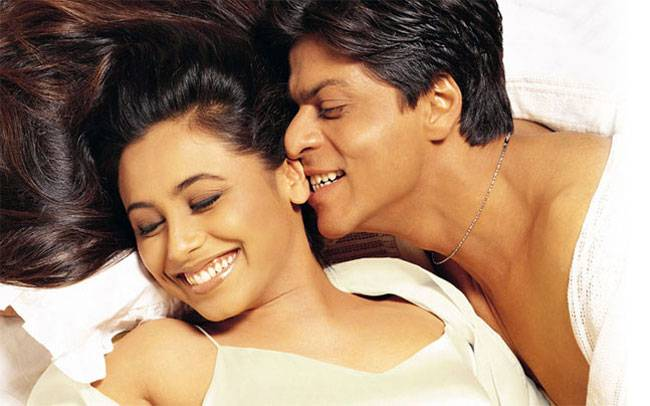 Image result for Shah Rukh Khan – Rani Mukerji