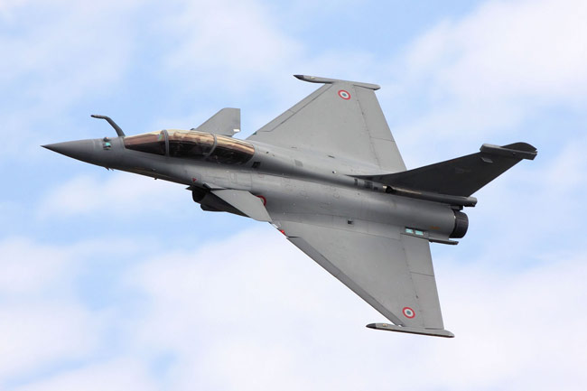 French Rafale fighter plane